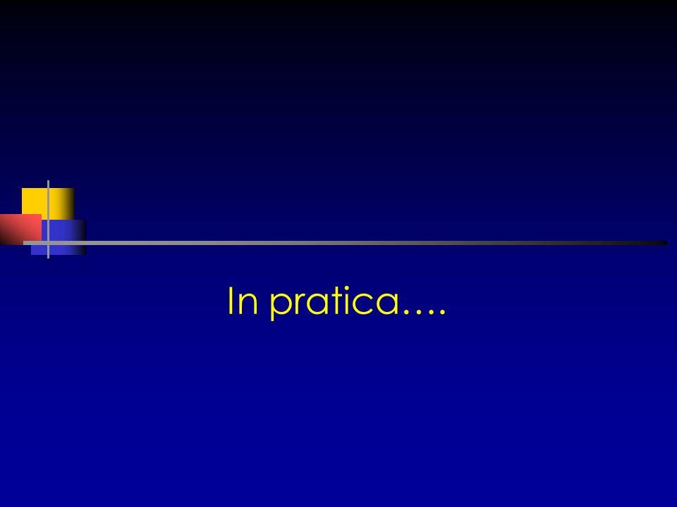In pratica….