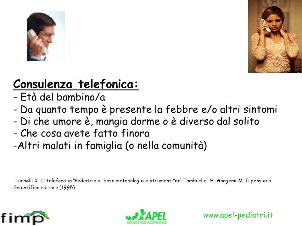 Consulenza telefonica: