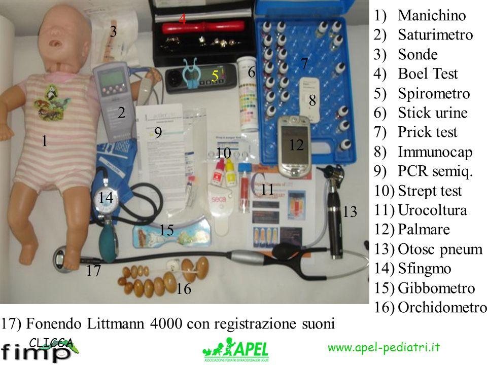 17) Fonendo Littmann 4000 con registrazione suoni