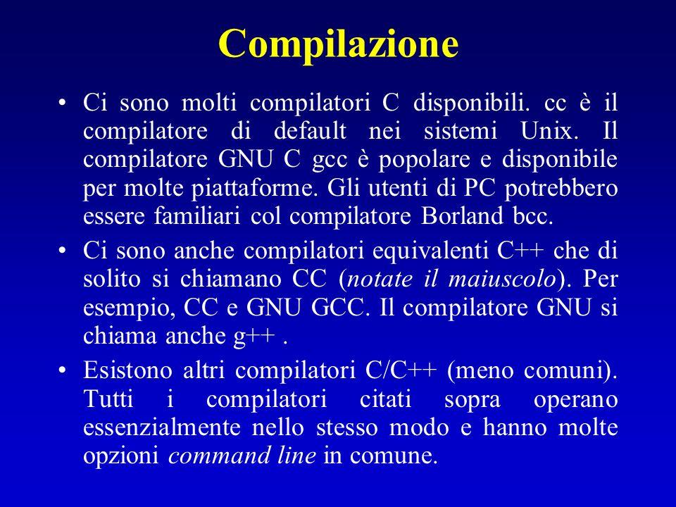 Compilazione