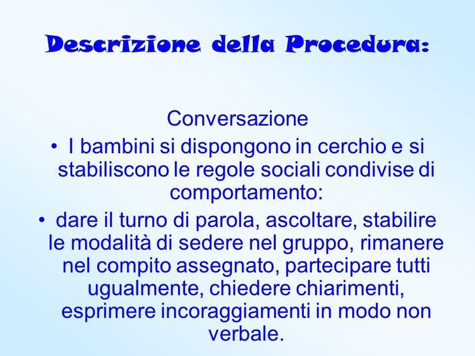 Descrizione della Procedura: