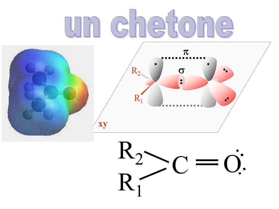 un chetone R1 R2 s p xy R2 C O R1