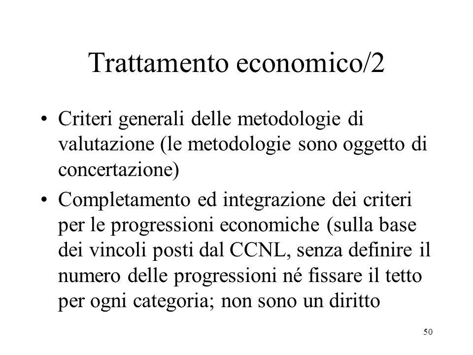 Trattamento economico/2