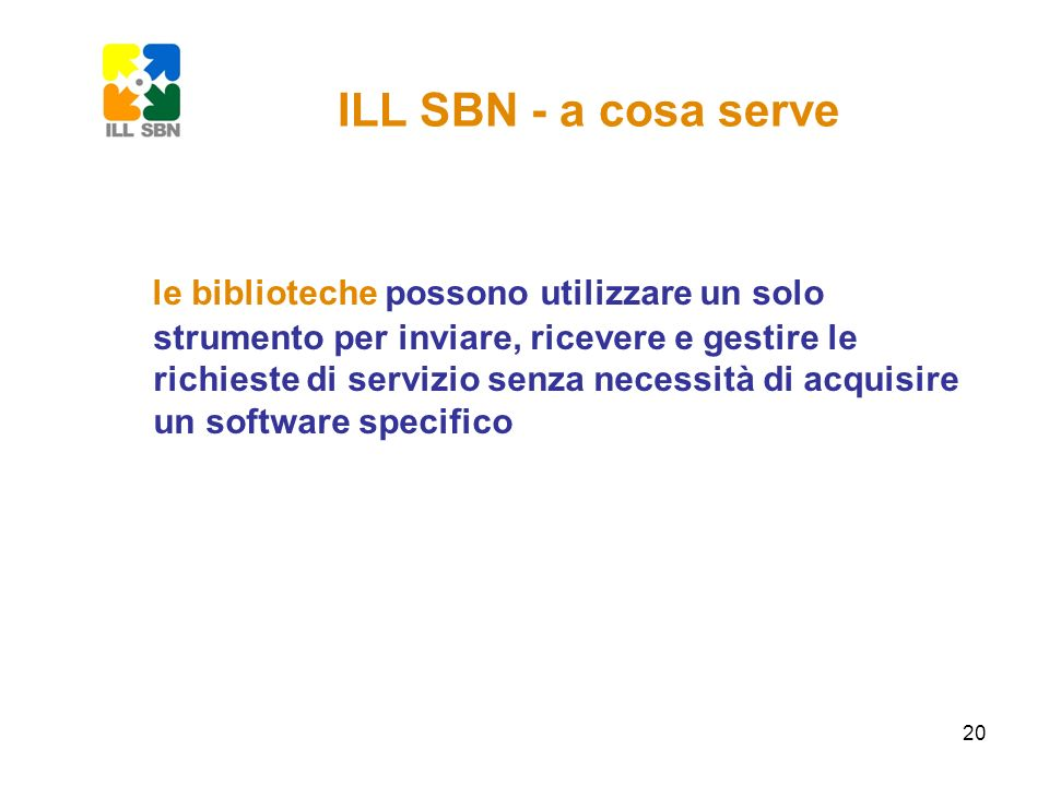 ILL SBN - a cosa serve