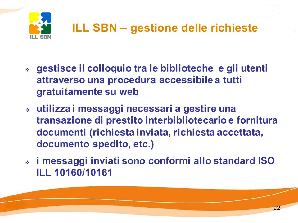 ILL SBN – gestione delle richieste