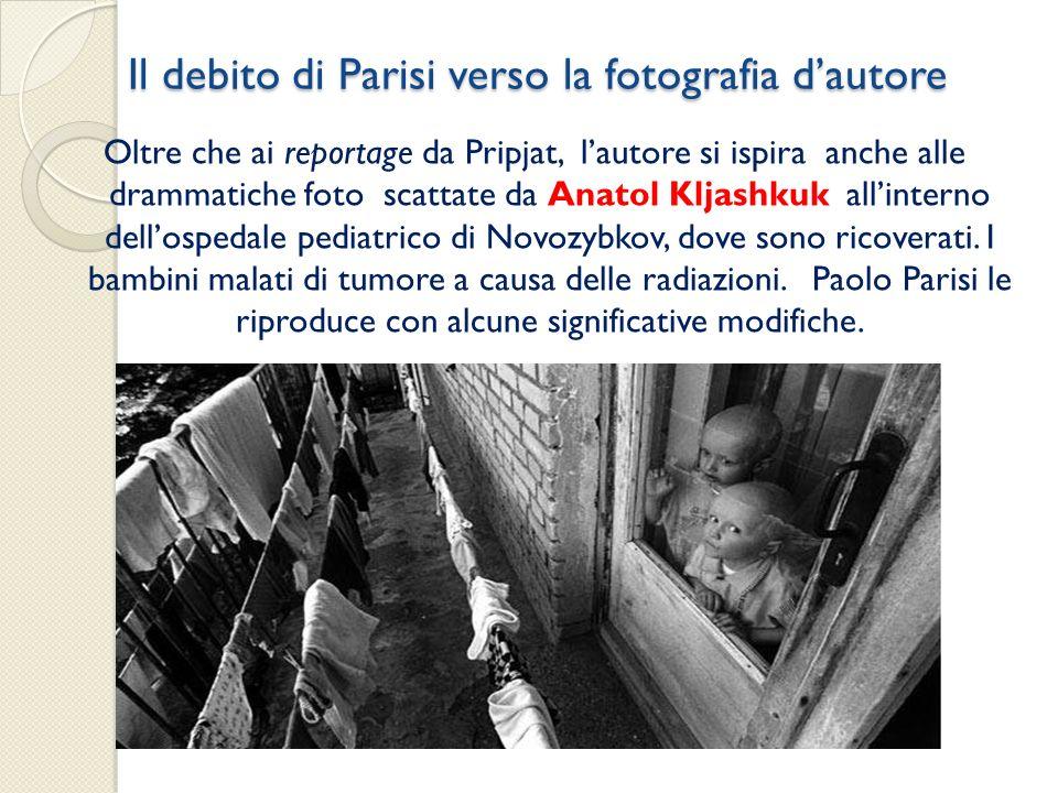 Il debito di Parisi verso la fotografia d'autore