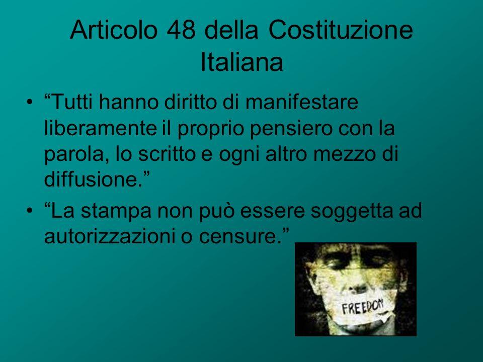 Articolo 48 della Costituzione Italiana