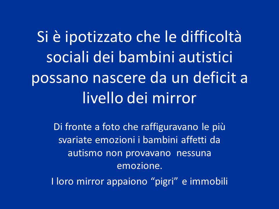 I loro mirror appaiono pigri e immobili