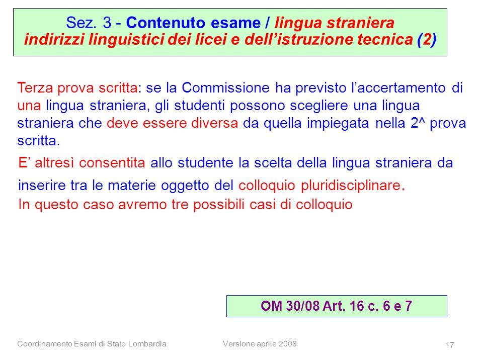indirizzi linguistici dei licei e dell'istruzione tecnica (2)