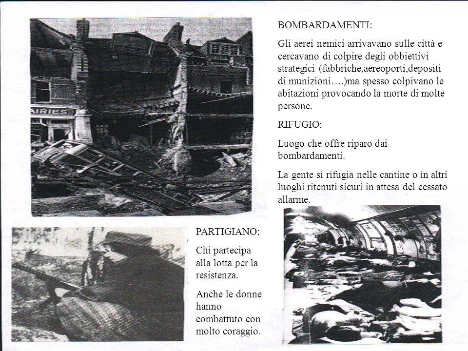 BOMBARDAMENTI:
