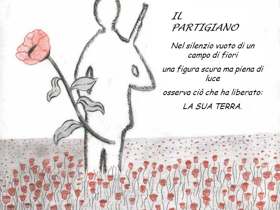 IL PARTIGIANO Nel silenzio vuoto di un campo di fiori
