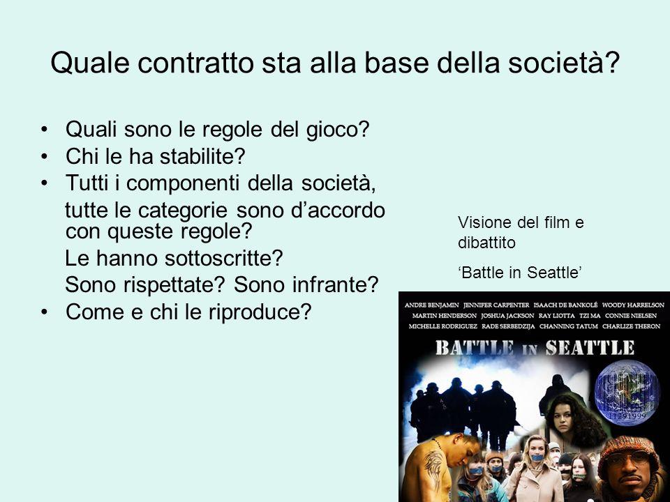 Quale contratto sta alla base della società