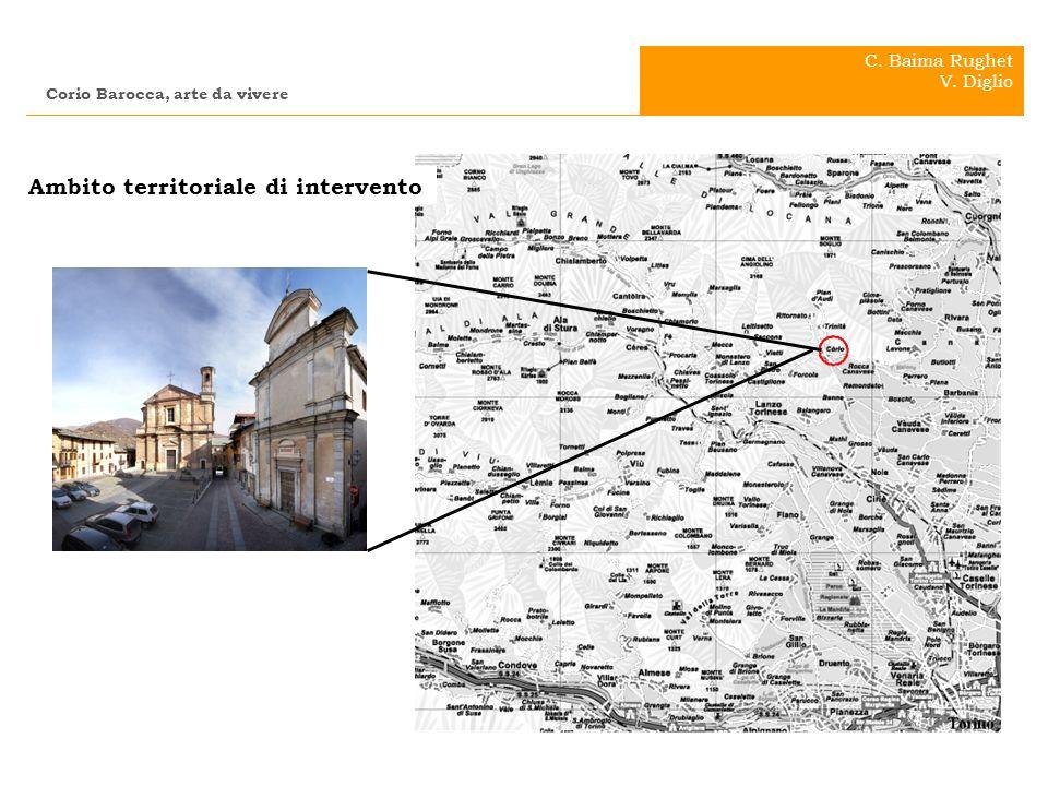 . . Ambito territoriale di intervento C. Baima Rughet V. Diglio