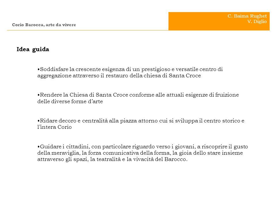 C. Baima Rughet V. Diglio. Corio Barocca, arte da vivere. . Idea guida.