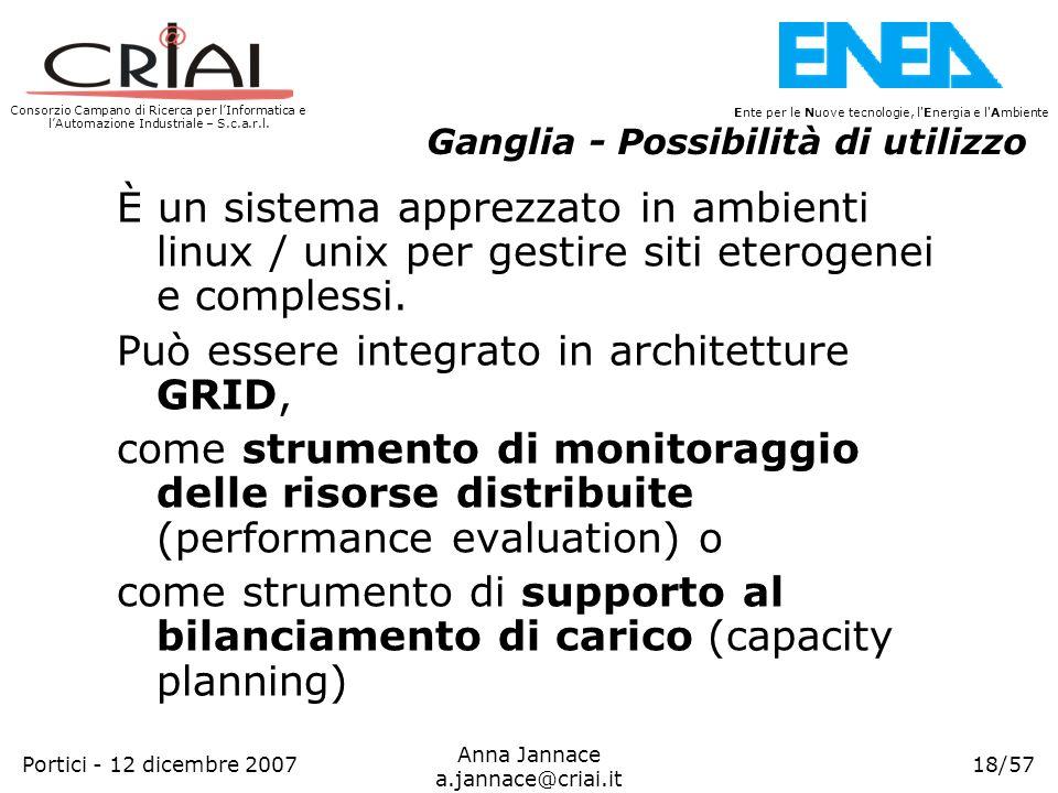 Può essere integrato in architetture GRID,