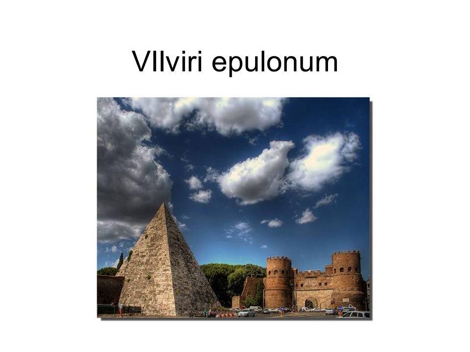 VIIviri epulonum