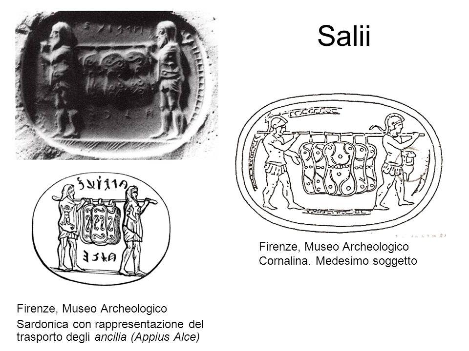 Salii Firenze, Museo Archeologico Cornalina. Medesimo soggetto