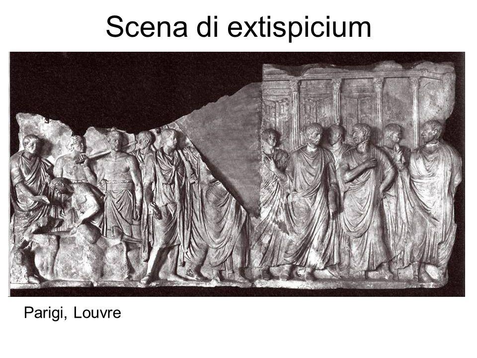 Scena di extispicium Parigi, Louvre