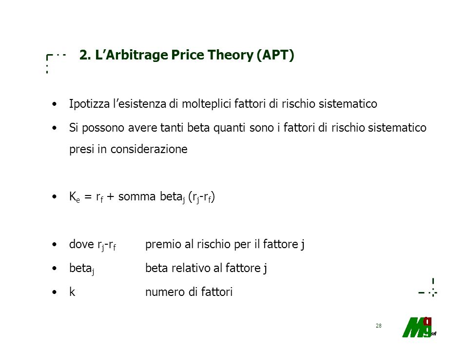 2. L'Arbitrage Price Theory (APT)