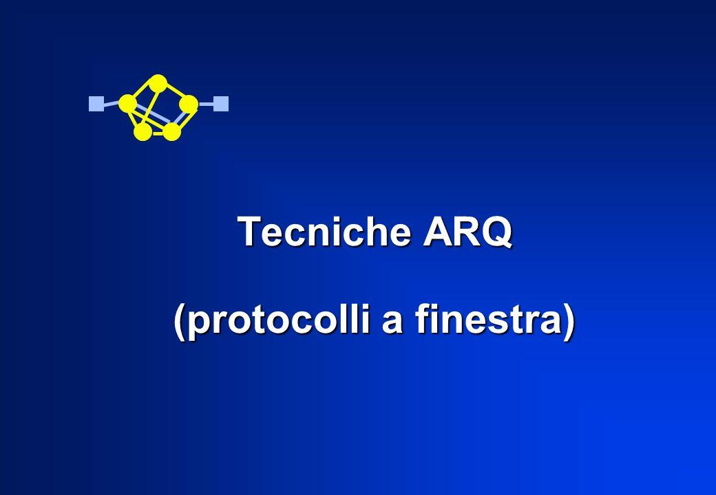 Tecniche ARQ (protocolli a finestra)
