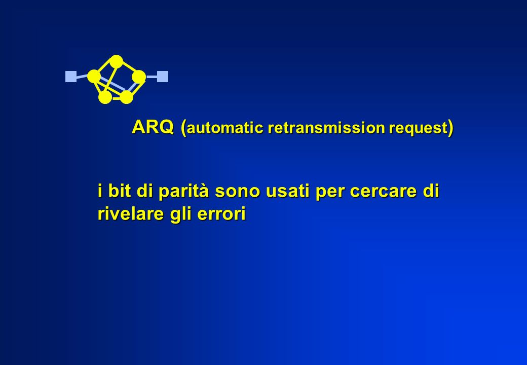 ARQ (automatic retransmission request)