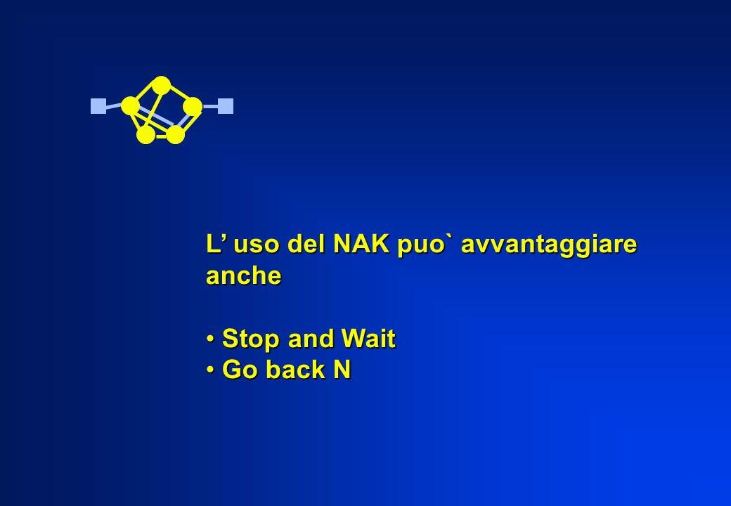 L' uso del NAK puo` avvantaggiare