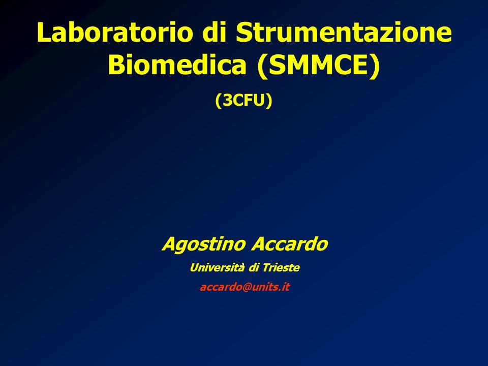 Laboratorio di Strumentazione Biomedica (SMMCE)
