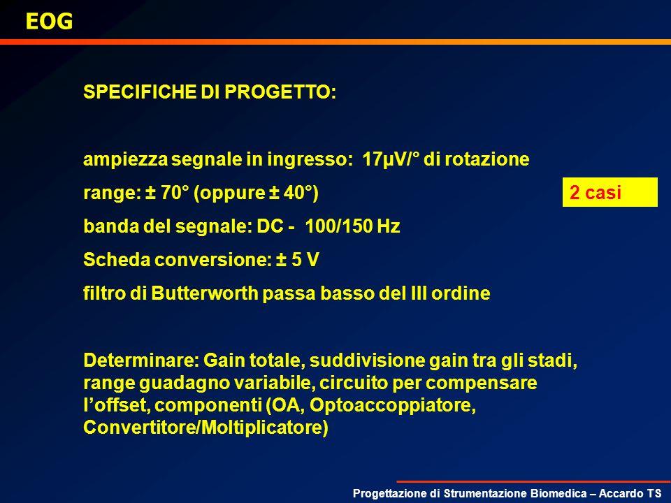 EOG SPECIFICHE DI PROGETTO: