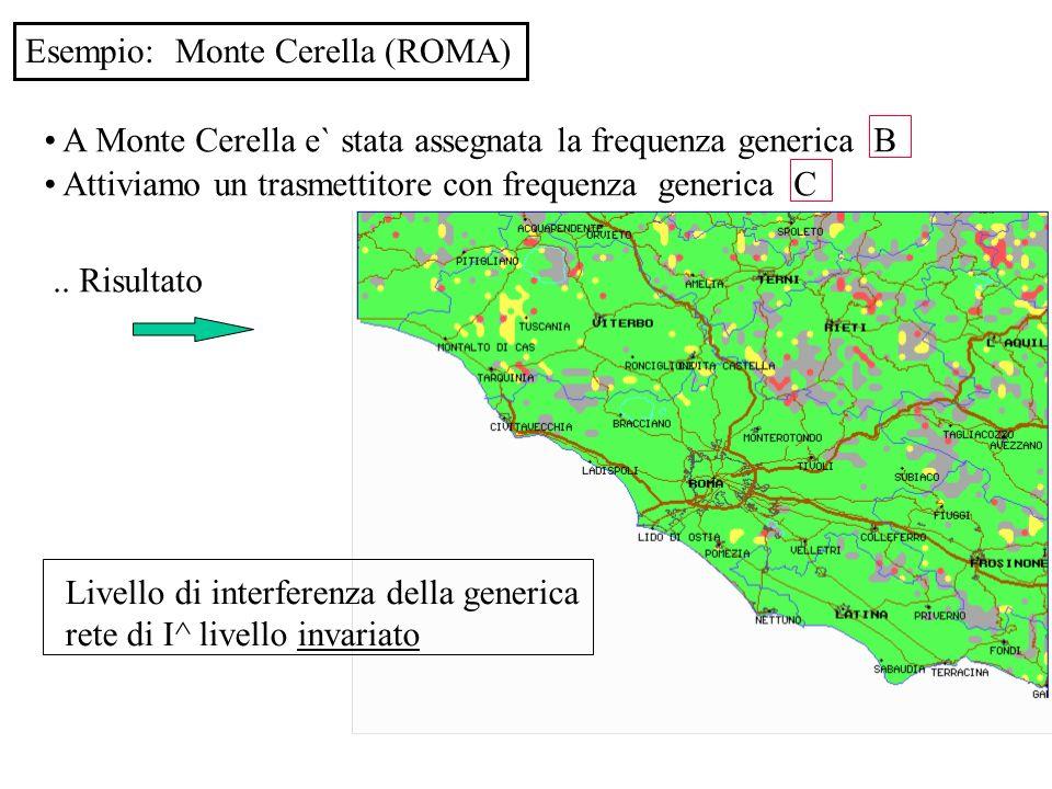 Esempio: Monte Cerella (ROMA)
