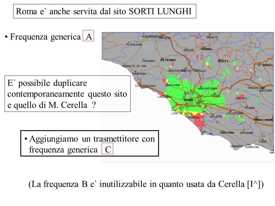 Roma e` anche servita dal sito SORTI LUNGHI