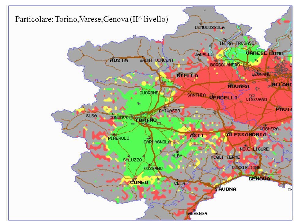 Particolare: Torino,Varese,Genova (II^ livello)