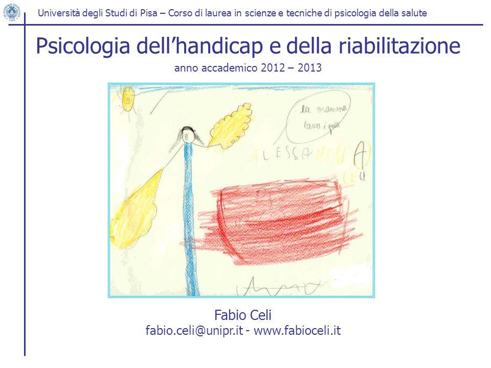 Psicologia dell'handicap e della riabilitazione