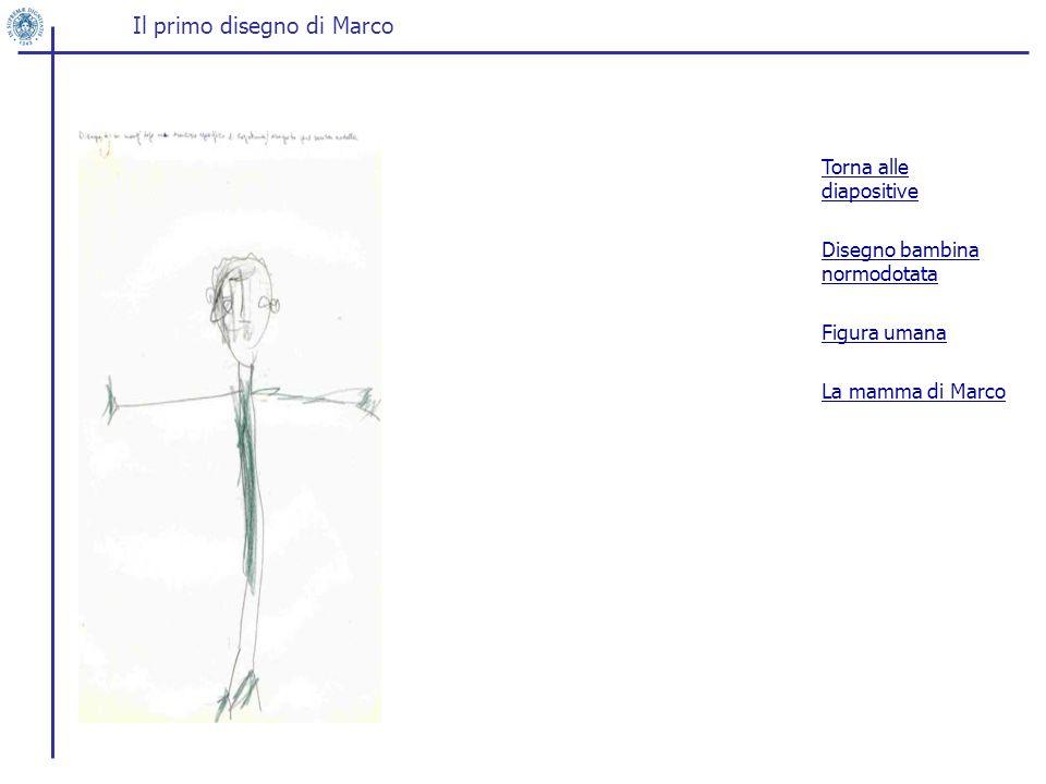 Il primo disegno di Marco