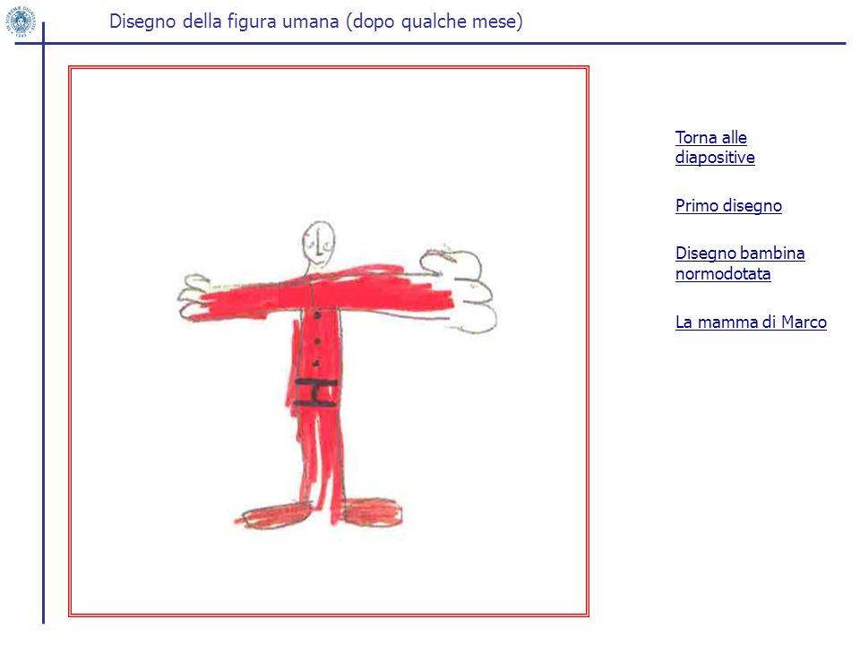 Disegno della figura umana (dopo qualche mese)
