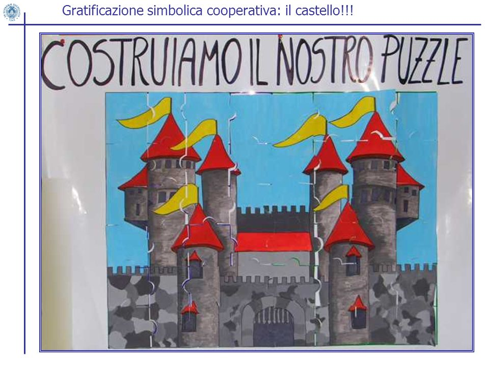 Gratificazione simbolica cooperativa: il castello!!!