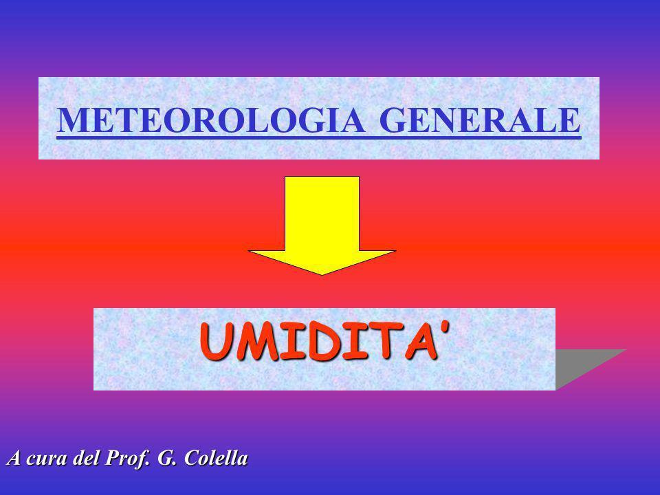 METEOROLOGIA GENERALE