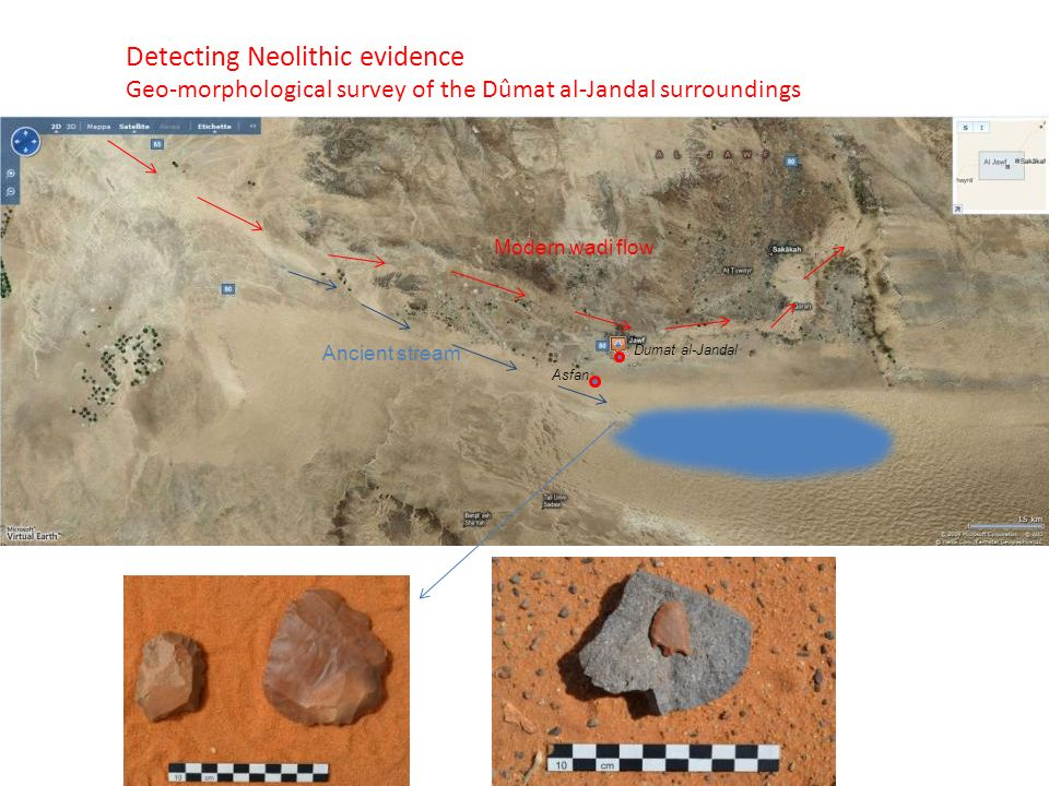 Detecting Neolithic evidence