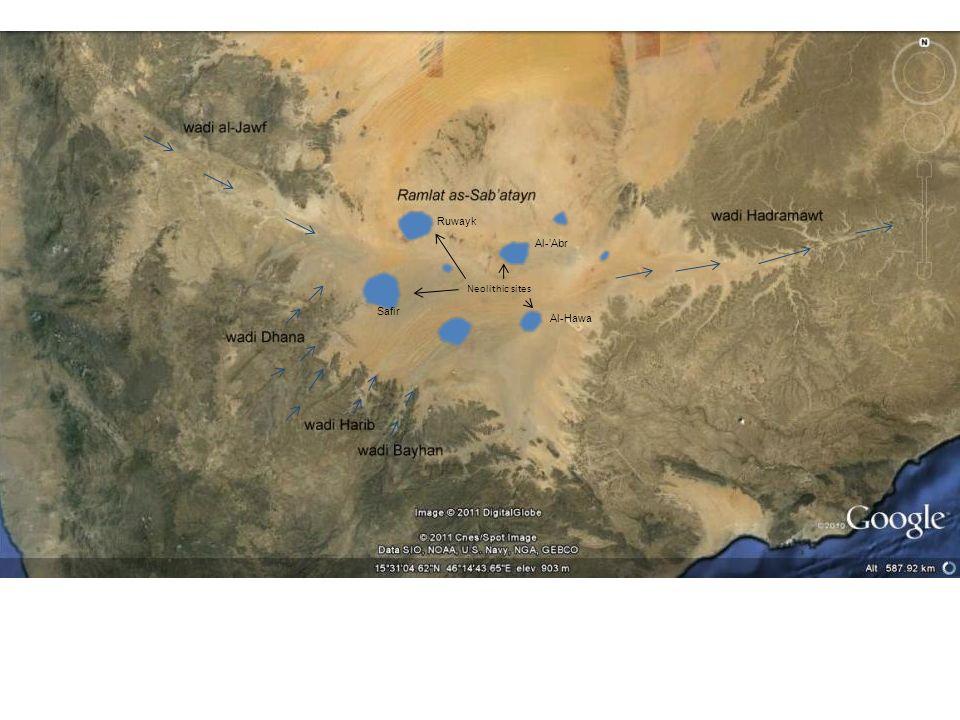 Ruwayk Al-'Abr Neolithic sites Safir Al-Hawa