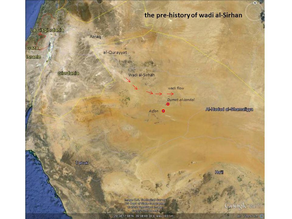 the pre-history of wadi al-Sirhan