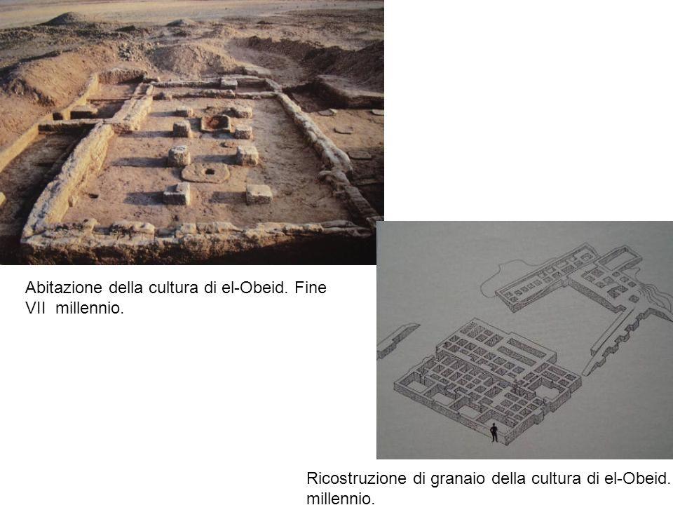 Abitazione della cultura di el-Obeid. Fine VII millennio.