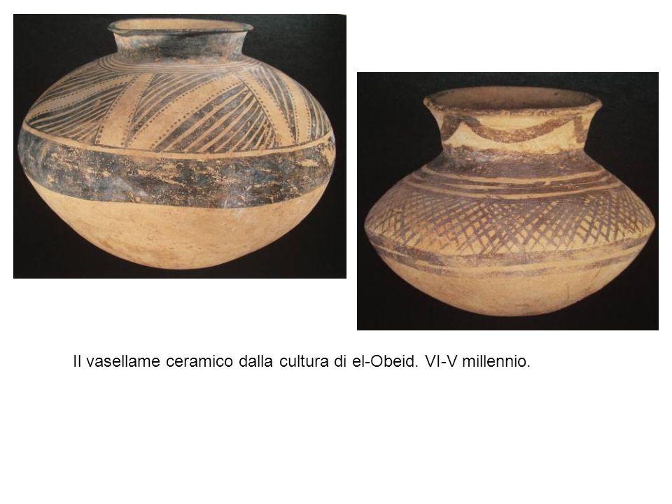 Il vasellame ceramico dalla cultura di el-Obeid. VI-V millennio.