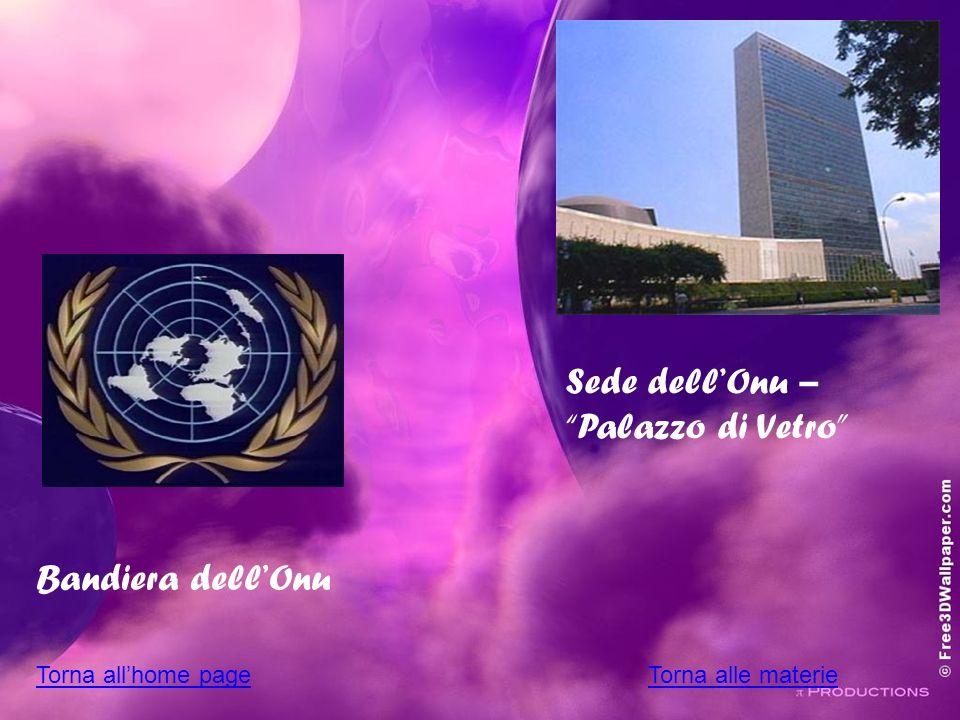 Sede dell'Onu – Palazzo di Vetro