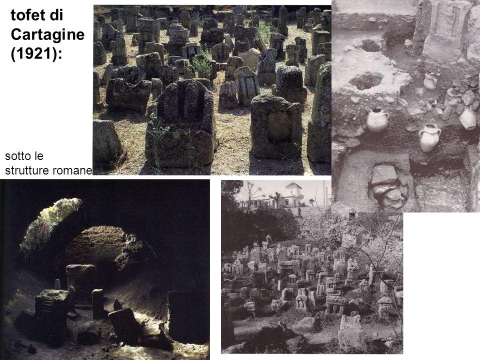 tofet di Cartagine (1921): sotto le strutture romane