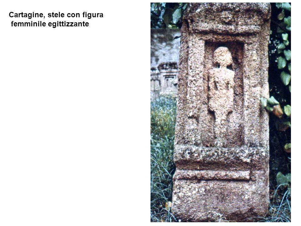 Cartagine, stele con figura