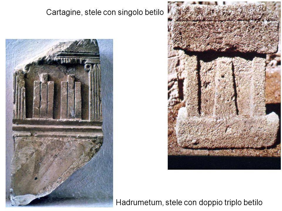 Cartagine, stele con singolo betilo