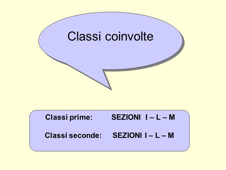 Classi seconde: SEZIONI I – L – M