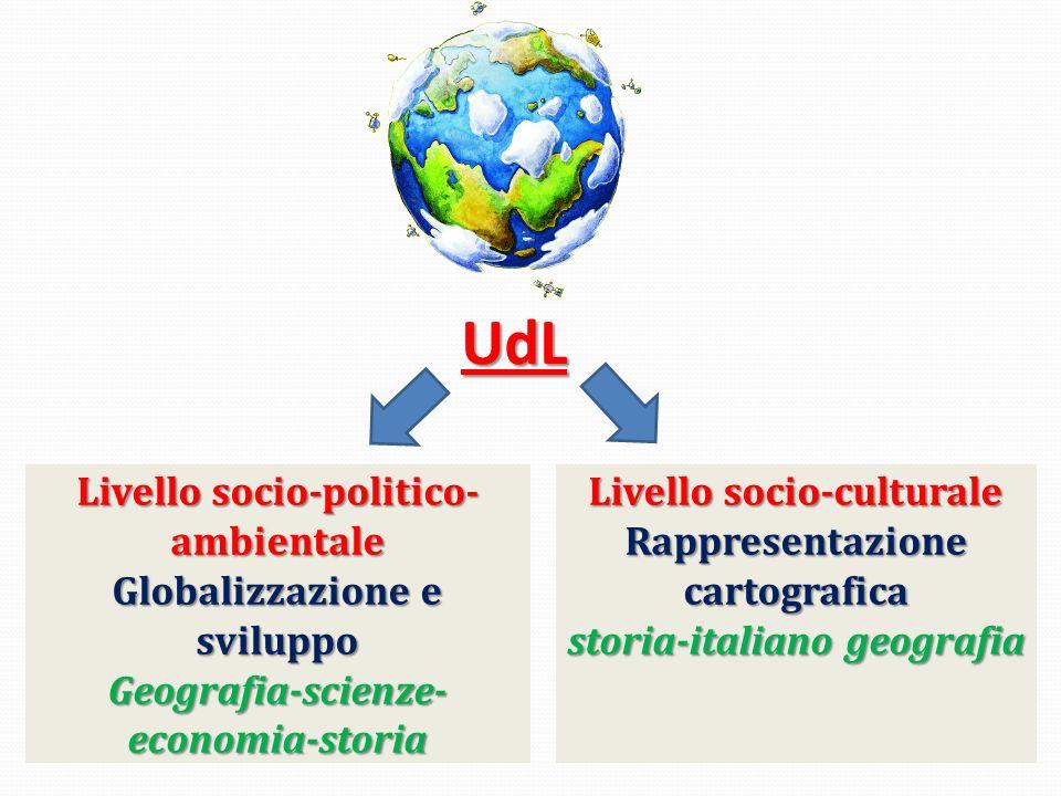 UdL Livello socio-politico-ambientale Globalizzazione e sviluppo