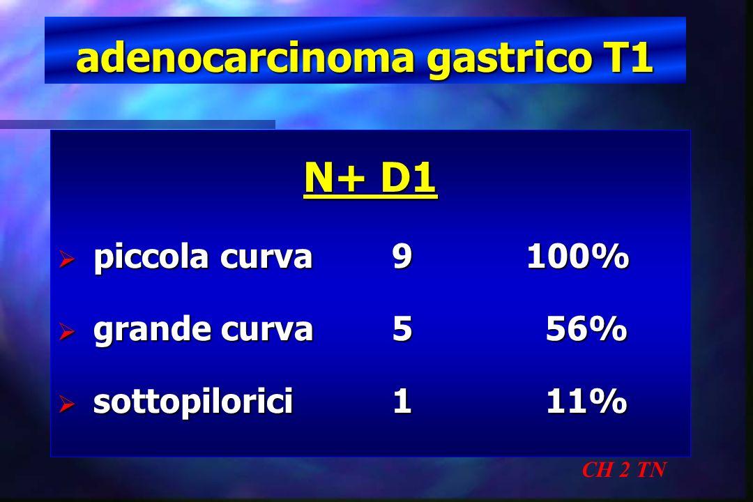 adenocarcinoma gastrico T1