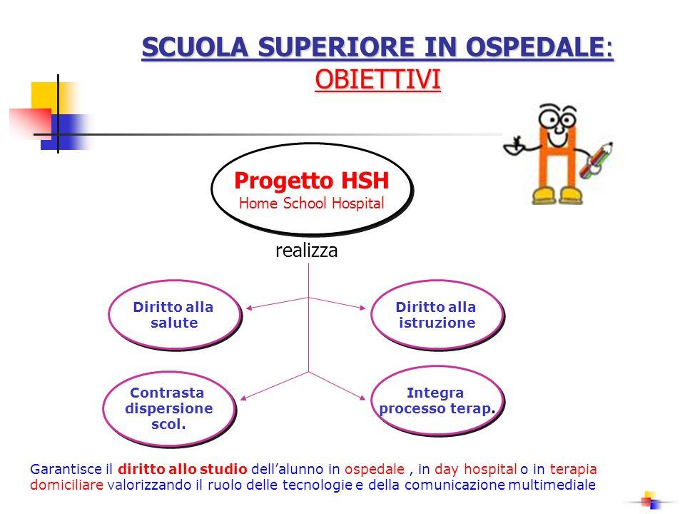 SCUOLA SUPERIORE IN OSPEDALE: OBIETTIVI