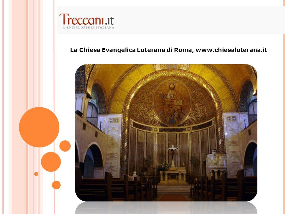 La Chiesa Evangelica Luterana di Roma, www.chiesaluterana.it